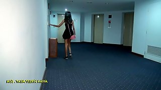 Asian Whore Fucked In Ass