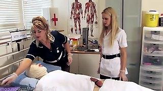 Nurse treats patient