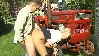 Salacious farm chicks gets screwed till orgasm in epic compilation video